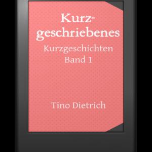 Kurzgeschriebenes Cover E-Book-Reader